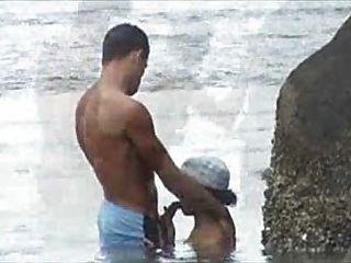 Flagra na playa fuck playa