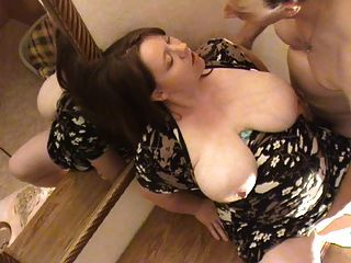 Bbw alemán embarazada follada en el pecho
