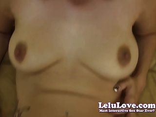 Lelu love submissive blowjob creampie para el amo