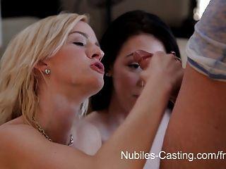 Nubiles casting cum swallowing cutie realmente quiere este trabajo
