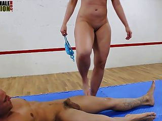 Big butt mistress facesitting mixed wrestling