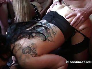 Saskia farell y sexy bella hardcore fuck
