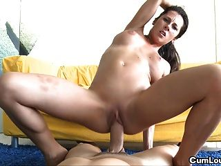 Hot latina le gusta tragar y fuck big dicks