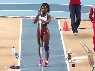 Yarisley silva: culo sexy cubano olimpiadas pole vault ameman