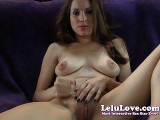 Lelu amor masturbación mutua comiendo instrucción