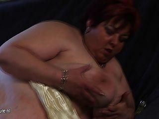 Mamita grande malinka se pone mushy y cachonda