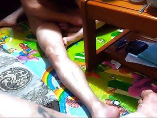 Nuevo video coreano compartiendo esposa con un amigo