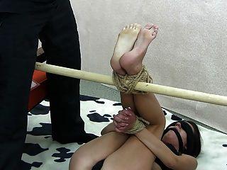 Tortura de pie bastinado