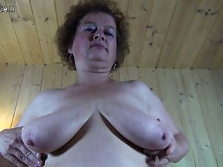 Abuela alemana grossmutter conseguir sucio