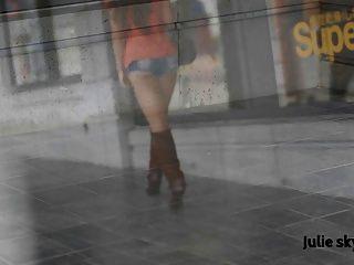 Exposicionista cumslut francés en botas (gangbanggirl ggg)