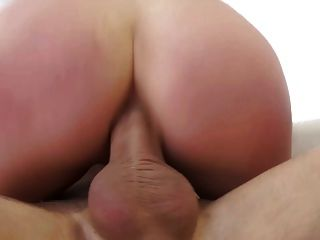 Busty angela blanco anal interracial doble penetración