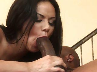 Buen sexo anal con estilos nadia