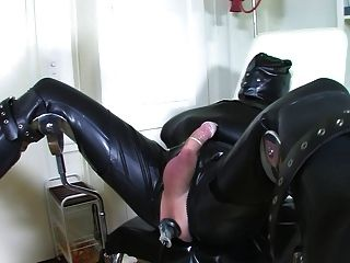 Bizarre latex enema slave part 3 de 5