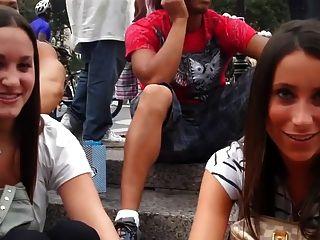 Masaje de pies público en nueva york