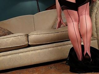 Abi toyne negro medias cosidas