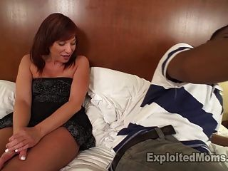 Sexy milf amateur se teabagged y le encanta