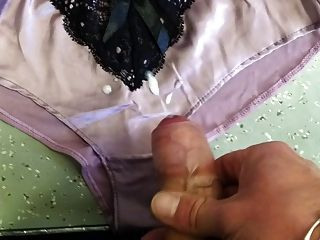 Eyaculación culotte panty cum