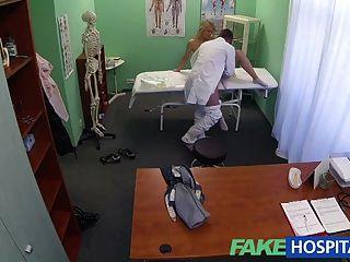 Fakehospital exitosa consulta como caliente blonde gemidos