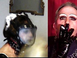 Mandy smoke fetish maid