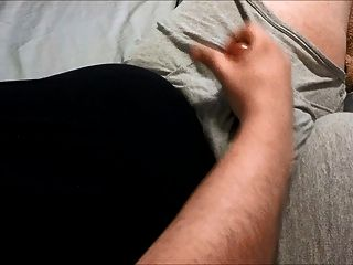 Chub guy sacudidas y cumming