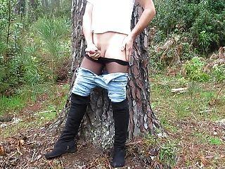 Mi masturbación en la naturaleza parte 2