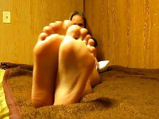 Cum en caliente rubias pies joi