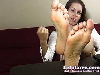 Lelu amor secretaria soles pie fetiche joe