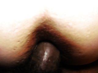 Bbc en su culo blanco