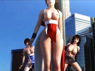 Kasumi mai tifa sexy dance