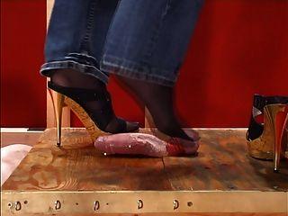 Zapato y footjob