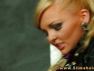 Jenna encantadora y samantha b en gloryhole