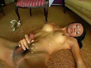 Hot ladyboy cum