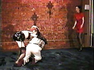 Ballbusting atado torturado testículos, cbt