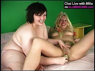 Lesbianas bbw y rubia modelo 1