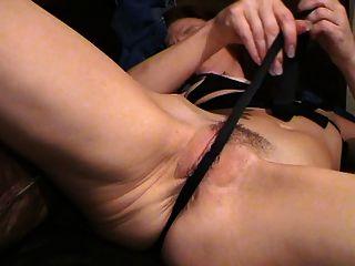 Milf en medias de medias negras