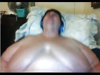 Bbw abuelita masturbándose en la webcam