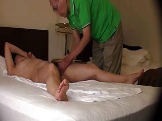 Masaje orgasmic de la esposa japonesa