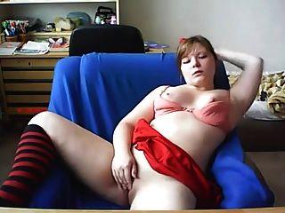 Chica mostrando su culo en la webcam