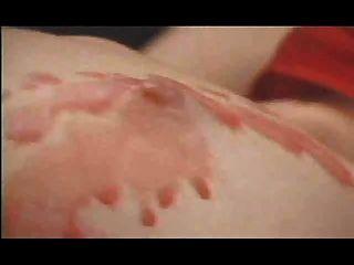 Lesbianas caliente cera castigo