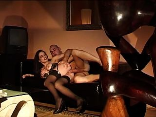 Jessica gayle anal y nylons