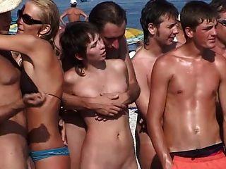 Campamento nudista ruso