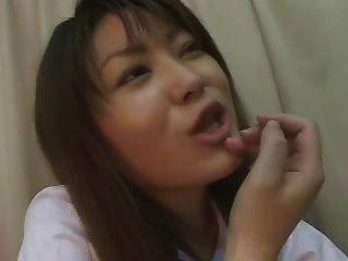 Humillación de masaje de próstata asiática 1