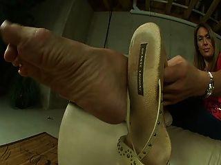 Sexy pies gruesos y maduros