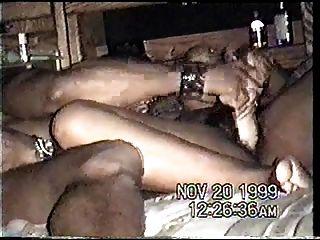 Cinta de la celebridad del sexo de la víspera