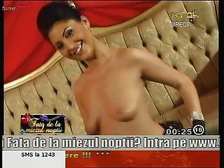 Anne impresionante anne de la muchacha que baila desnudo en la TV!