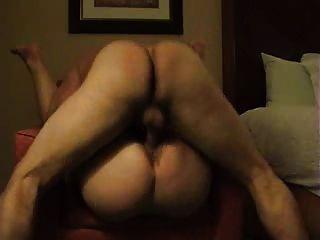Follando una gorda mujer de culo
