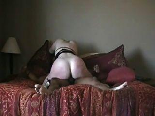 Cachonda big ass chick rides bbc