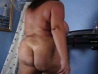 Maduro butt desnudo gran asiento treadmill ejercicio