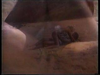Peter north shags una rubia caliente en la playa