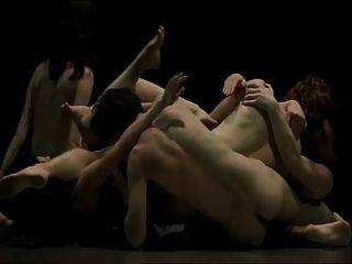 Danza erótica 2 magma de desnudos